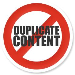 Lutter contre le duplicate content
