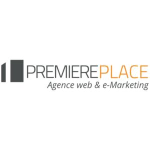 logo de l'agence Première Place - Parrain 2020-2021 de la LP eMAT